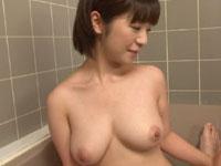 巨乳少女とお風呂